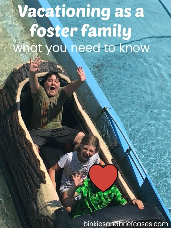 How to make your vacation as smooth as possible as a foster family #fostercare #foster #fosterfamily #fostering #vacation #tips #howto #travel