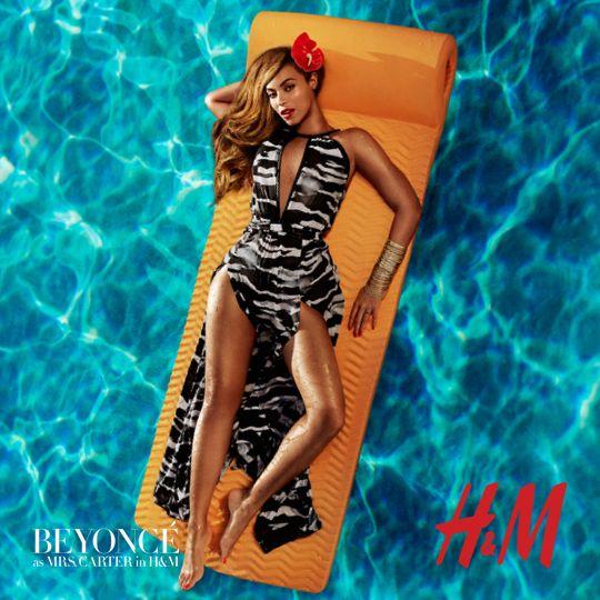 Beyoncé as Mrs. Carter in H