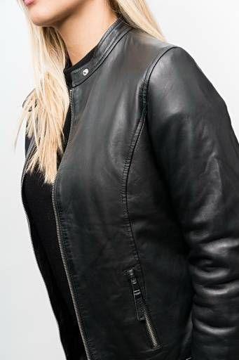 Redskins manteau cuir femme