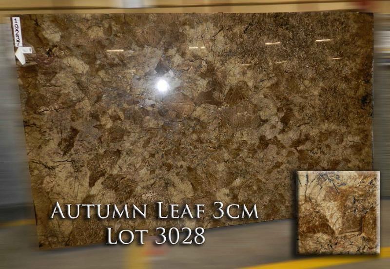 Autumn leaf granite dream kitchen pinterest granite for Granite countertops price per linear foot