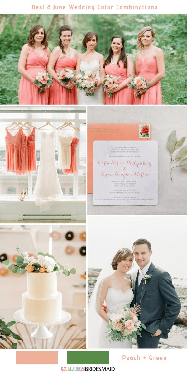 Best 8 June Wedding Color Combinations For 2019 June Wedding Colors Wedding Color Combinations Wedding Colors