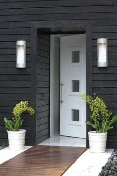 Bu0026w Outside; Lighting. Bu0026w Outside; Lighting Modern Entrance ...