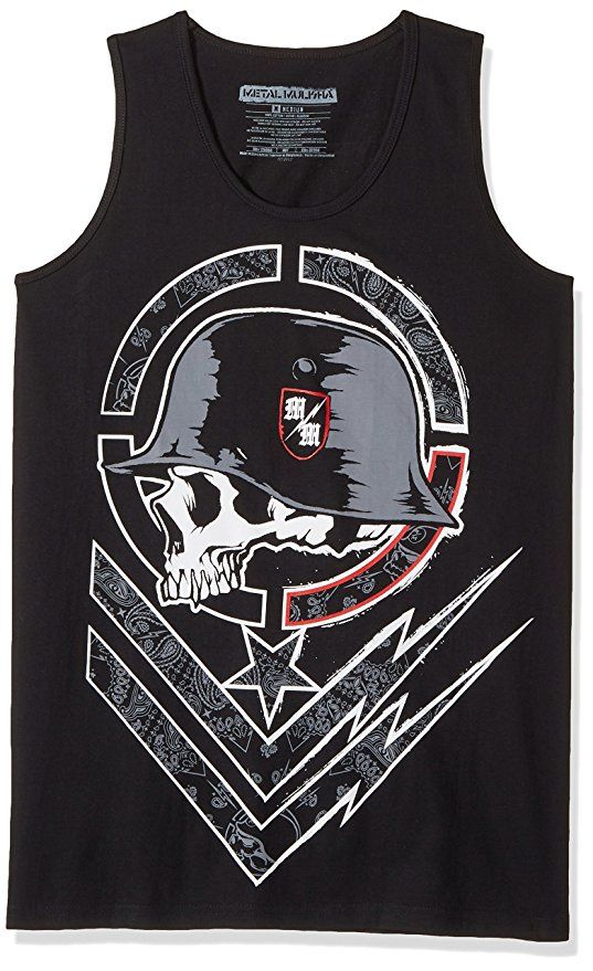 ae531702938634 Metal Mulisha Men s Sheet Tank