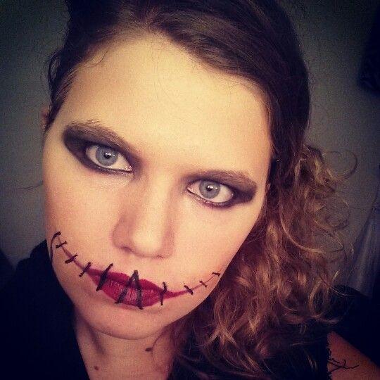 First Time Sewn Lip | Make Up | Pinterest | Halloween Stuff And Lips