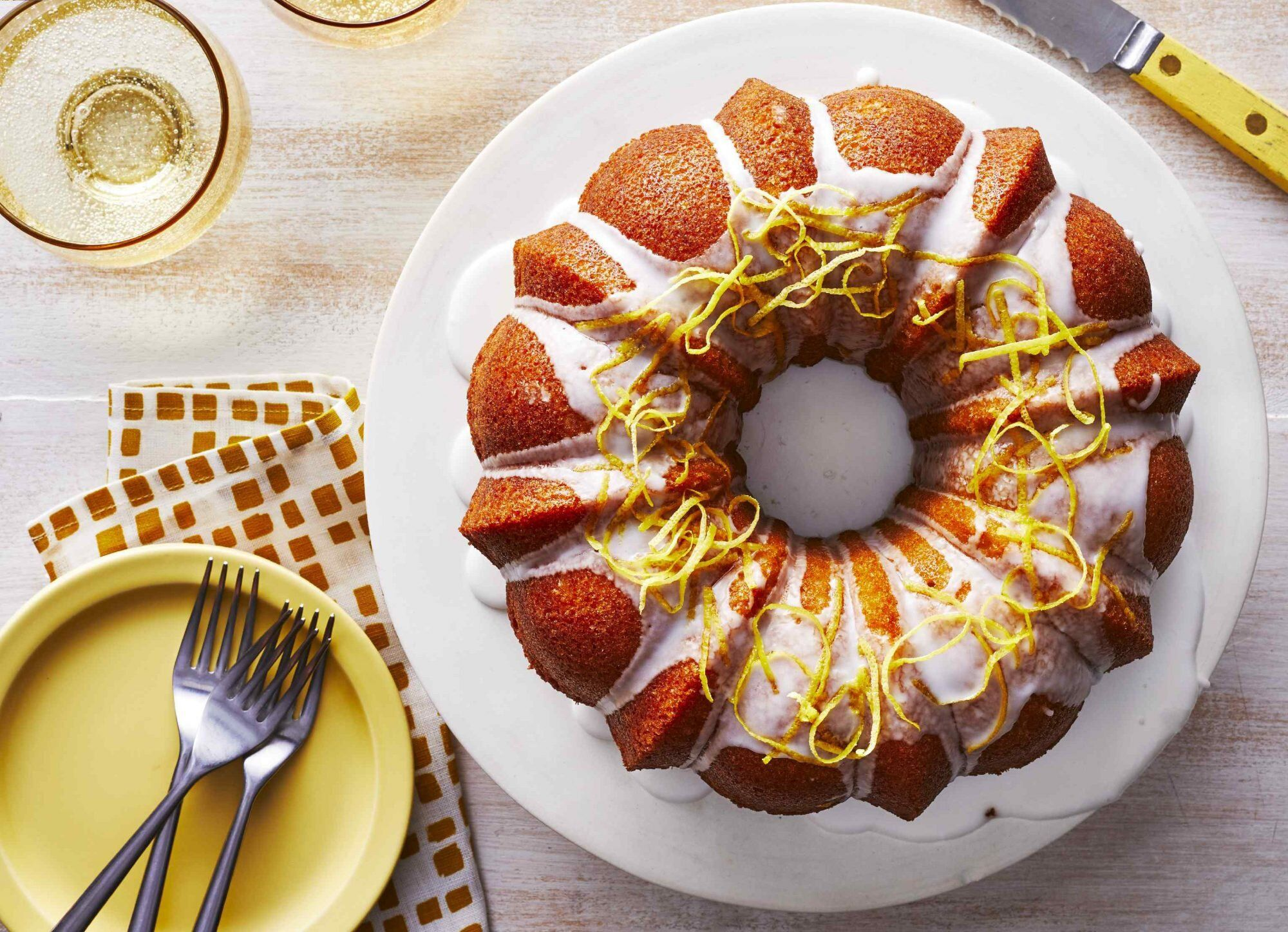 lemon sour cream pound cake southern living
