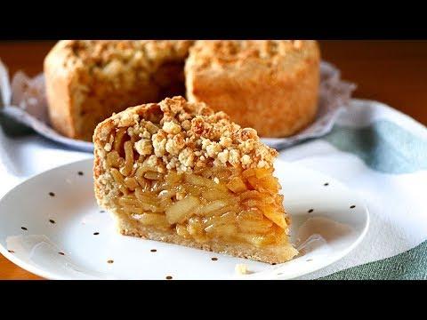 Esta Tarta De Manzana Es Una Delicia Jugosa Con Poca Masa Y Mucho Relleno Una Tarta Fácil Y Económica Que Os Enseño Pas Desserts Apple Recipes Easy Desserts