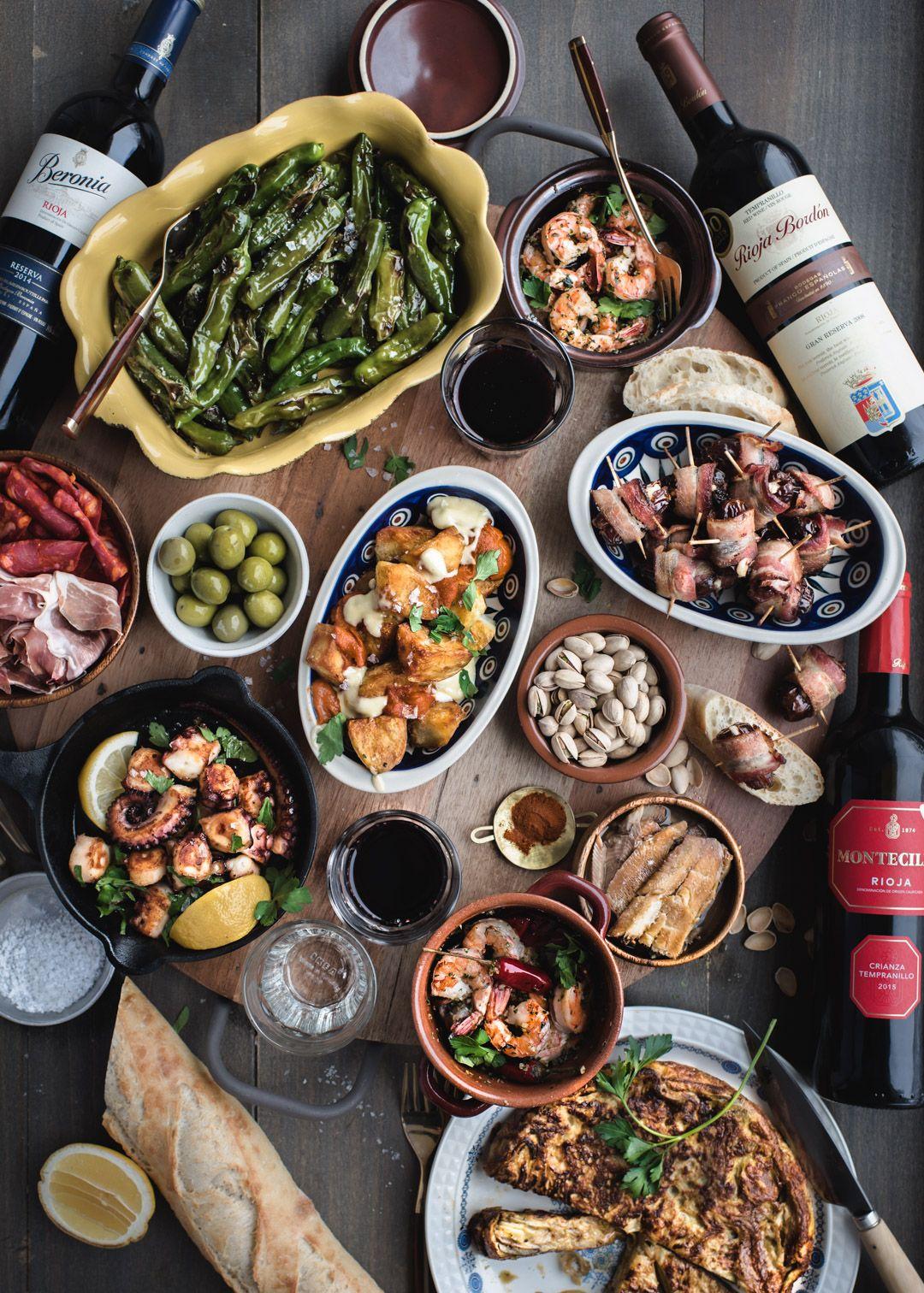 Spanish Tapas Party! { gluten-free, dairy-free, paleo