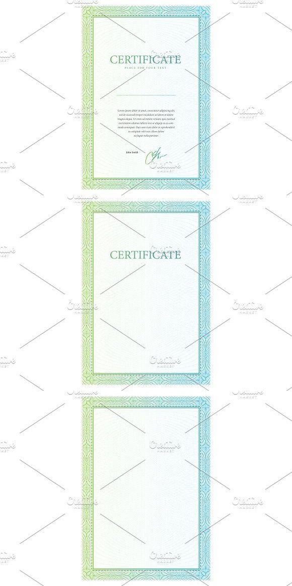 Certificate70. Certificate Templates. $6.00 | Certificate Templates ...