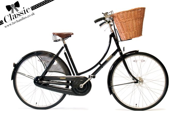 Pashley is one of a few British bicycle brands at www.luvhandles.co.uk