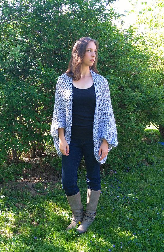 Easy Sweater Pattern Shrug Pattern Beginner Sweater Knit Pattern