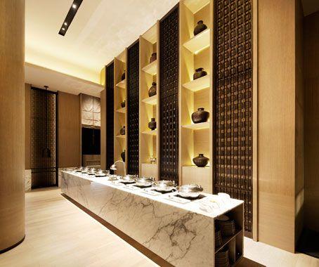 Rang Mahal By Scda Interiors Indesignlive Singapore Hotel Buffet Counter Design Restaurant Interior