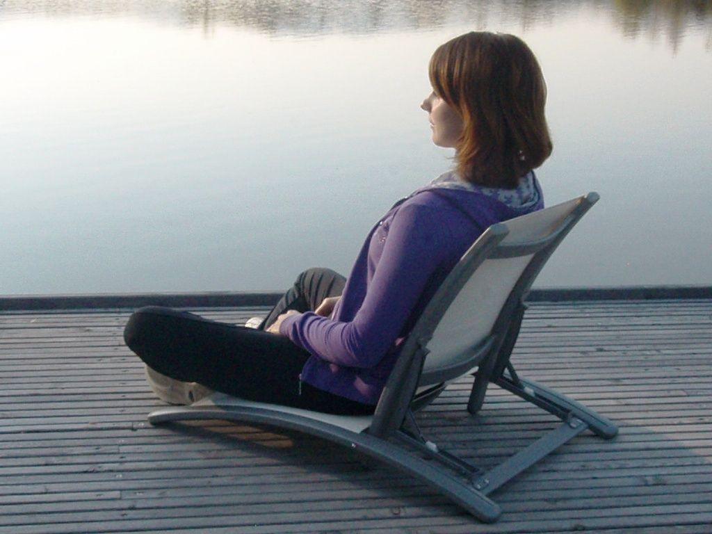 Grounded In Being, Perform Action #timeforthechair Meditation Chair By Suny  With Back Support For The Outdoors. #meditation
