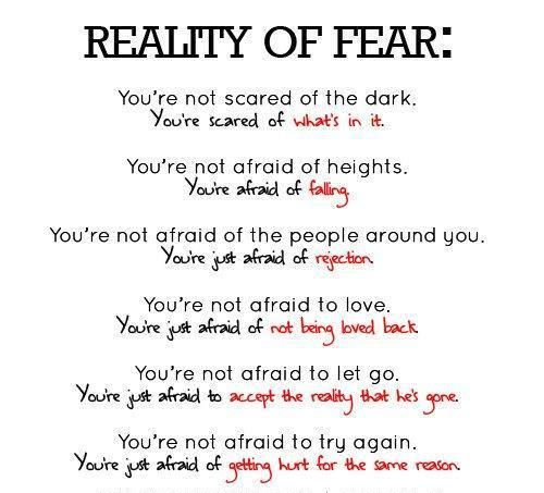 Reality of Fear