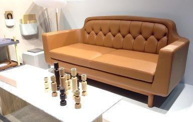 """Sofa """"Onkel"""" von Norman Copenhagen. imm Cologne. Image Schoener Wohnen."""