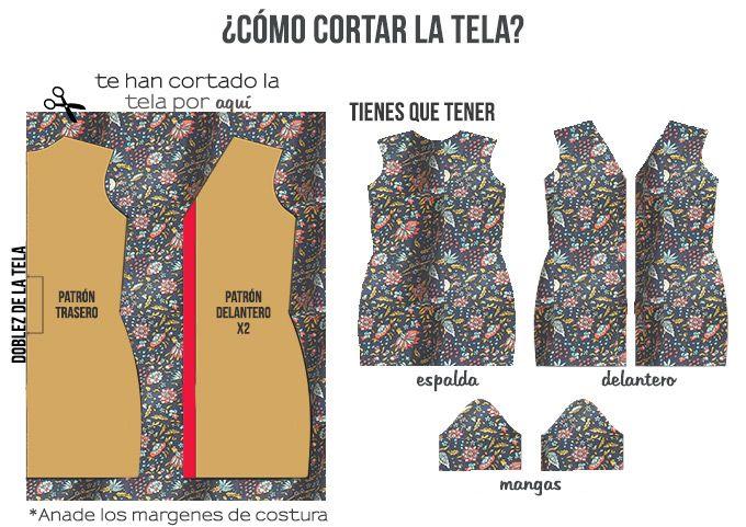 774843983d Patrones vestidos camiseros largos – Vestidos de fiesta