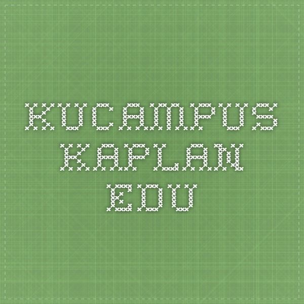 kucampus.kaplan.edu | adults | Pinterest