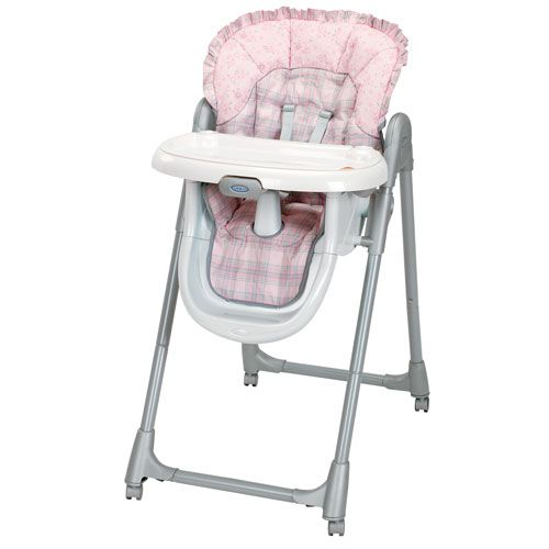 Graco High Chair Seat Cover Replacement | Baby High Chair Covers   Blue  Messeez High Chair