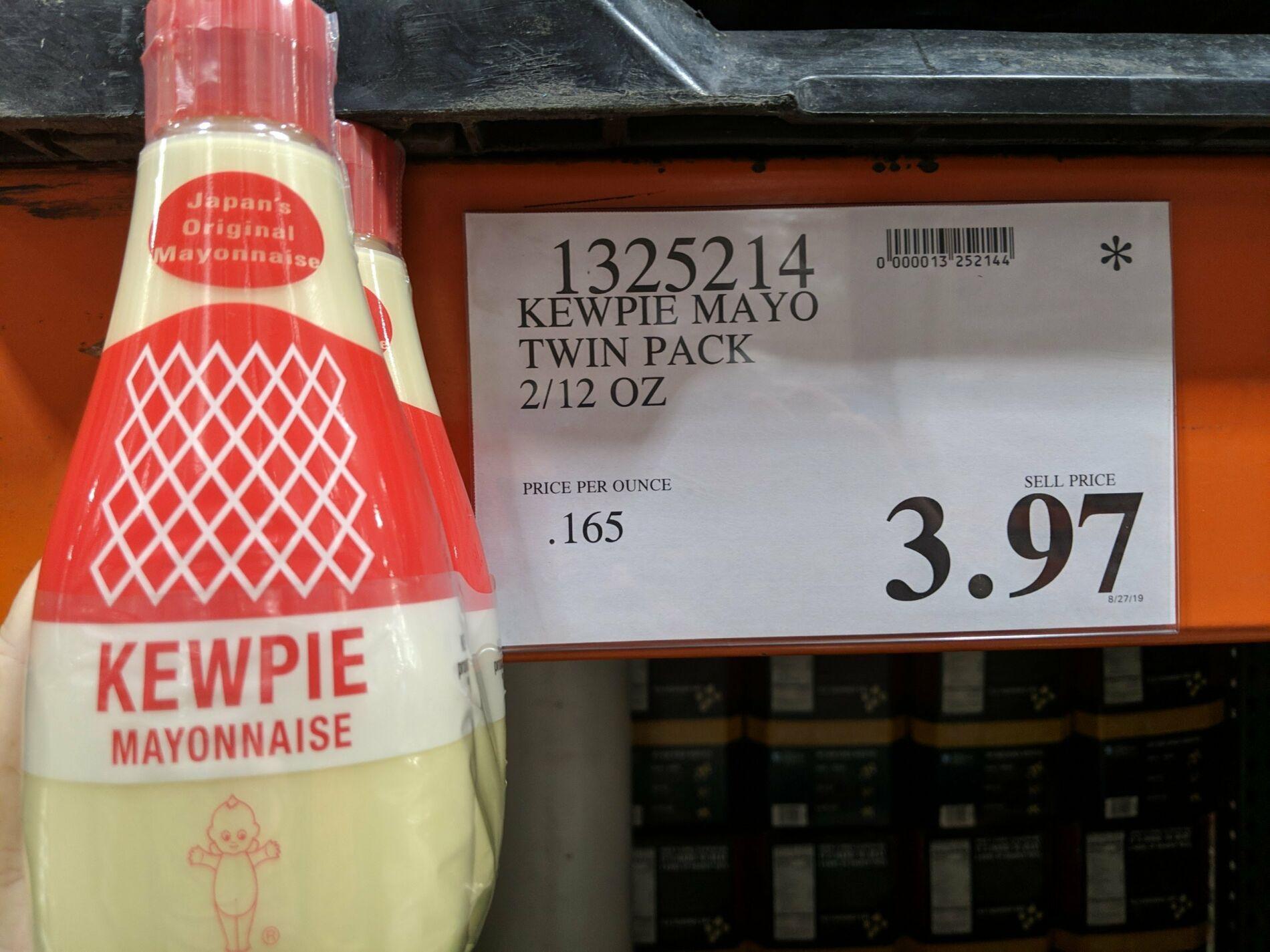Kewpie Mayo Twin Pack 3 97 Costco Clearance Kewpie Twin Pack Costco Locations