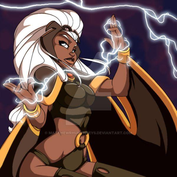 commission Misty Knight (Marvel Comics), Vixen   Mari Jiwe McCabe