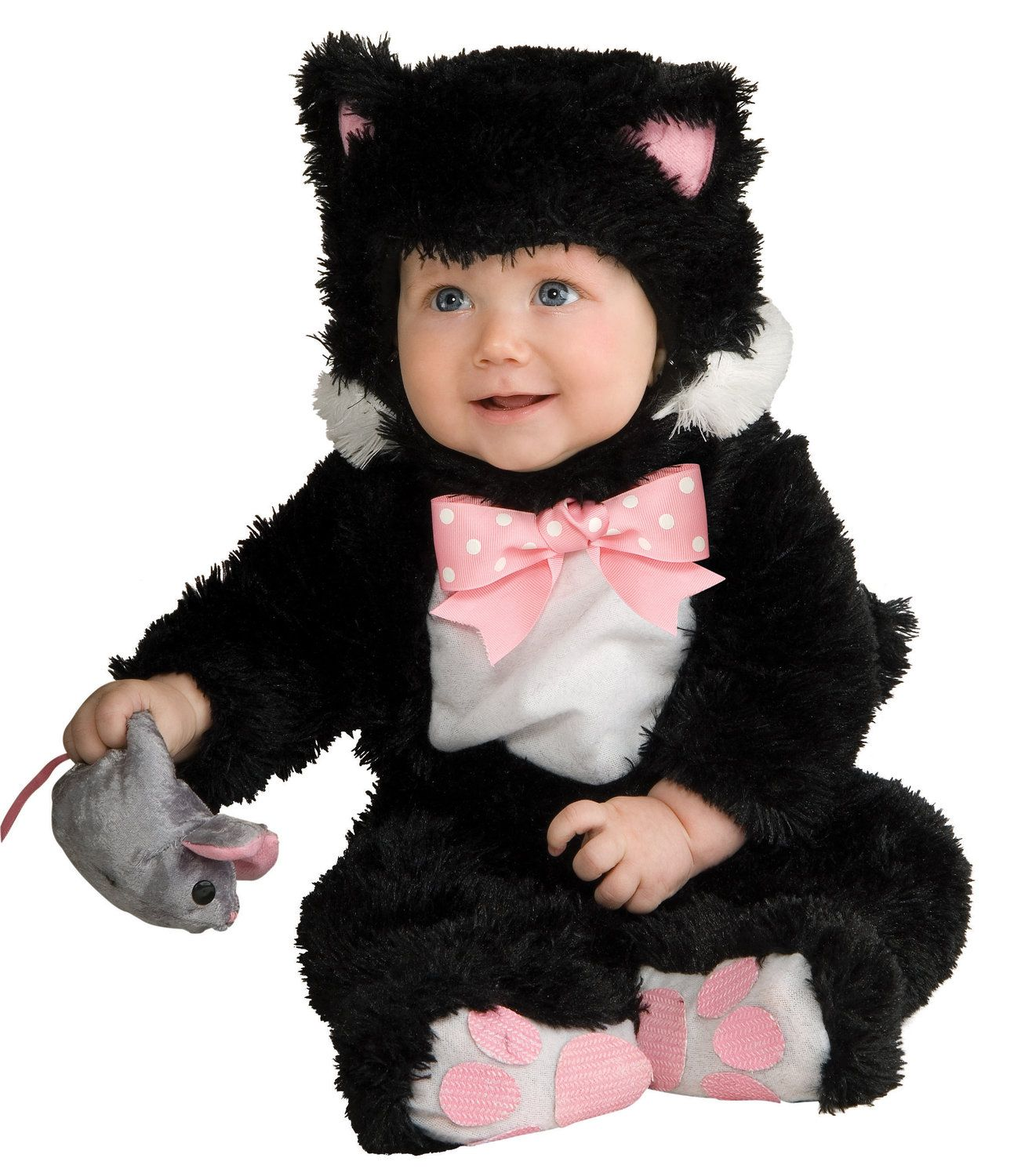 Sneaky Black Kitty Cat Baby Costume Kids Cat Costumes Kitten Costumes Kids Costumes Baby Costumes