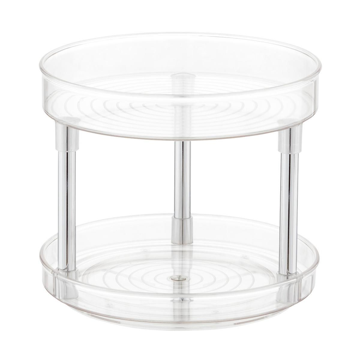 Idesign Linus 2 Tier Lazy Susan Russ 1 3 In 2019 Lazy Susan Container Store Spice Jars