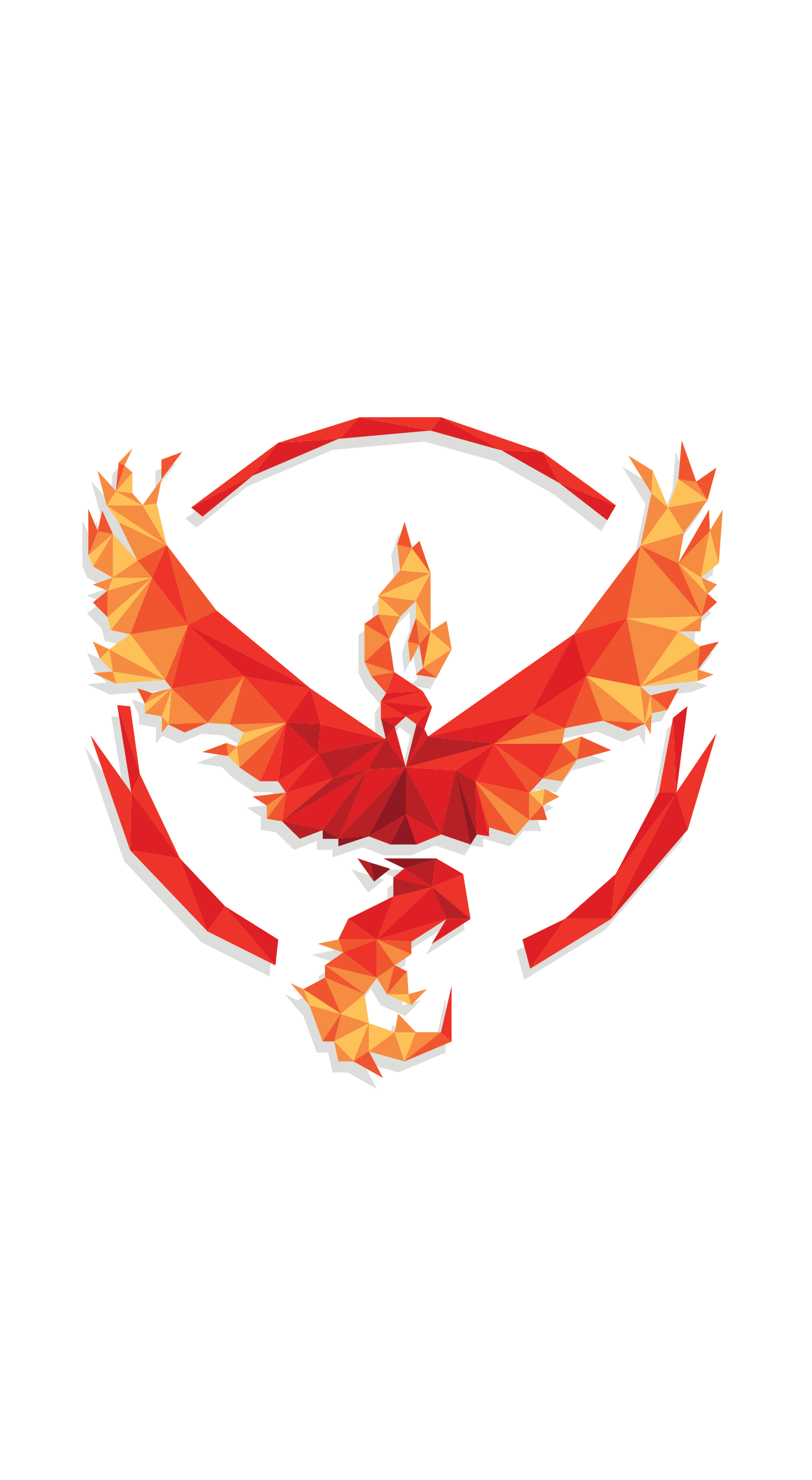 Geometric Team Wallpapers By Peaceablecolt Team Valor Team Wallpaper Pokemon Teams Pokemon