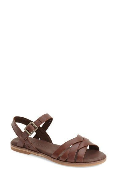 timberland womens leather sandals