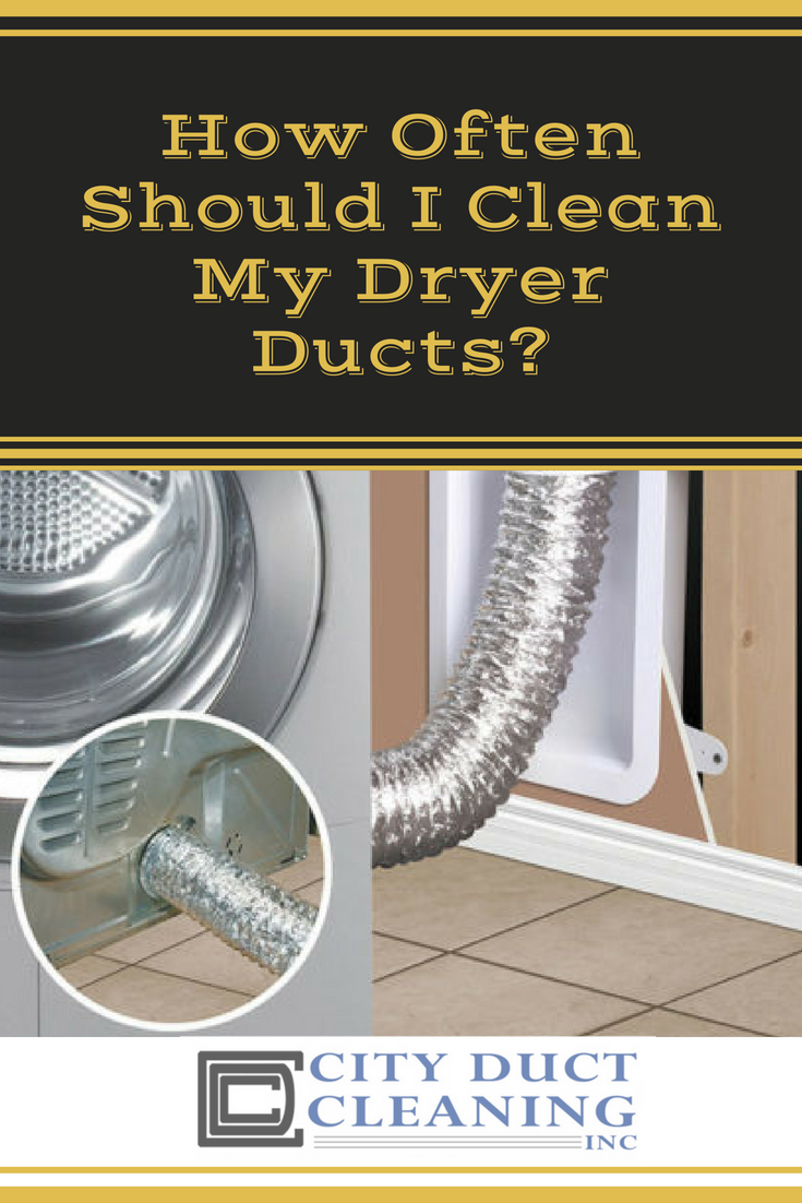How Often Should I Clean My Dryer Ducts Duct cleaning