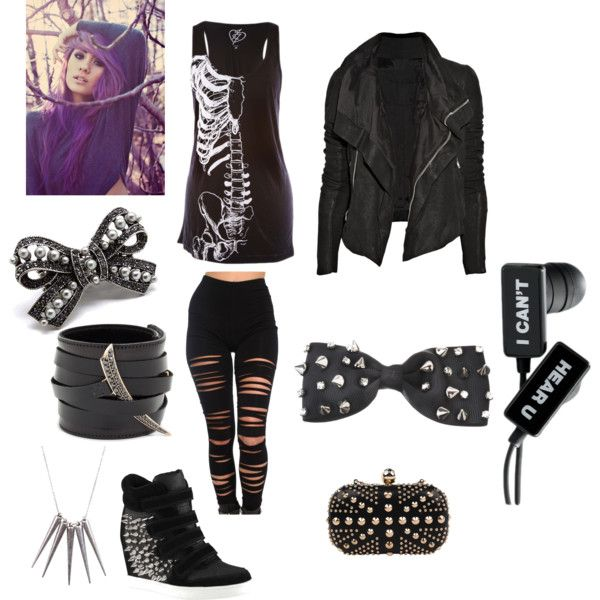 emo goth quotev outfit emo outfits emo goth and