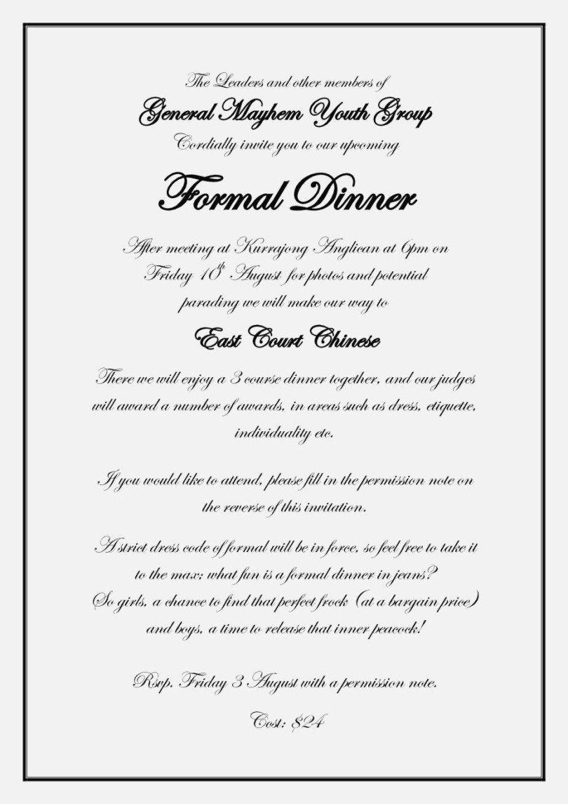 27 Elegant Photo Of Wedding Invitations Etiquette Sageofcon Com Formal Invitation Wording Wedding Invitation Etiquette Words Dinner Invitation Template