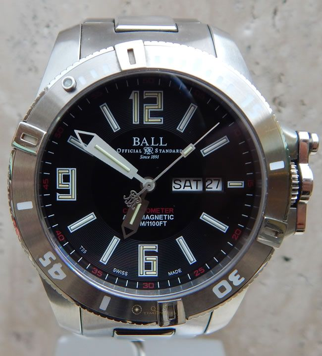 Ball Engineer Hydrocarbon Spacemaster DM2036A-SCAJ-BK Watch | Exquisite Timepieces