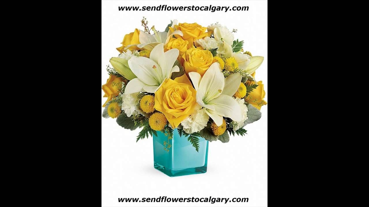 Calgary alberta flower delivery httpscalgaryflowersdelivery golden laughter bouquet send flowers to calgary izmirmasajfo