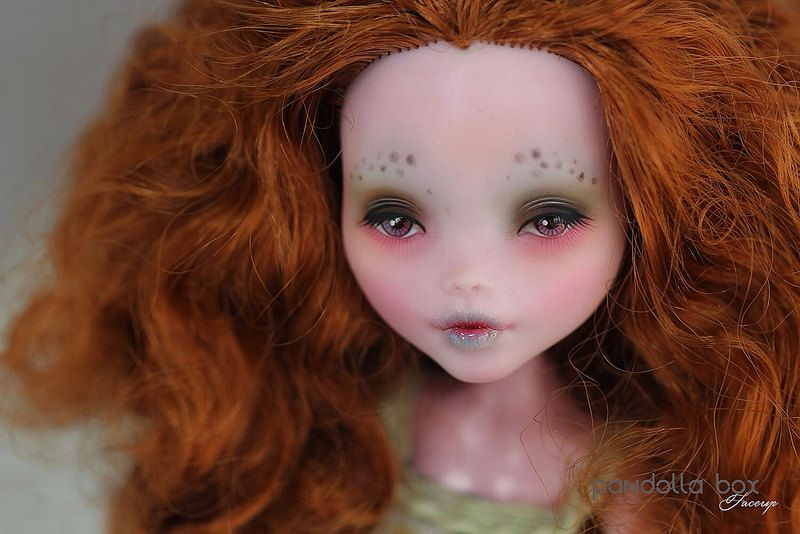 Monsterhigh Draculaura repaint   Flickr - Photo Sharing!