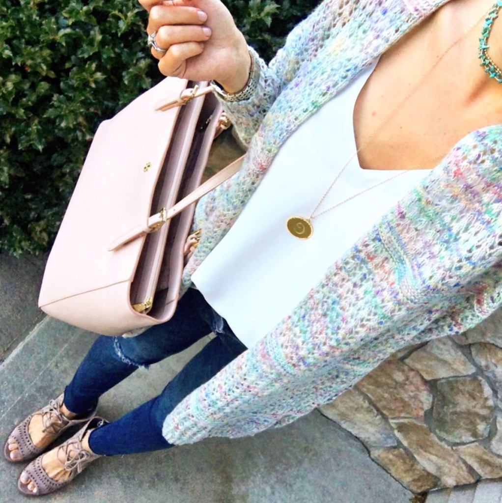 IG @mrscasual <click through to shop this outfit> Candy Colored Cardigan