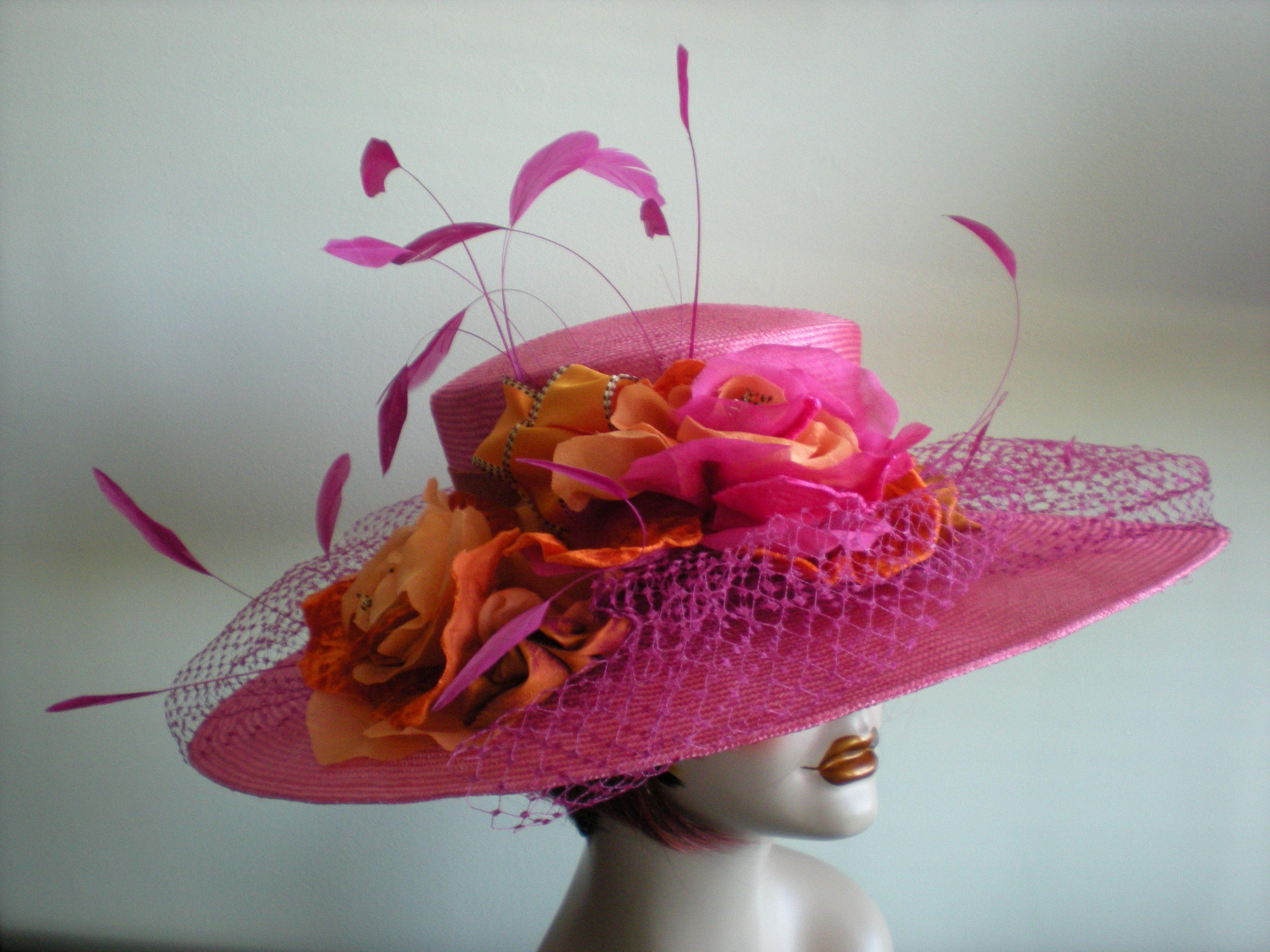 b410f98d Kentucky Derby Hats And Dress | Custom Made Kentucky Derby Hats | What a  Great Blog