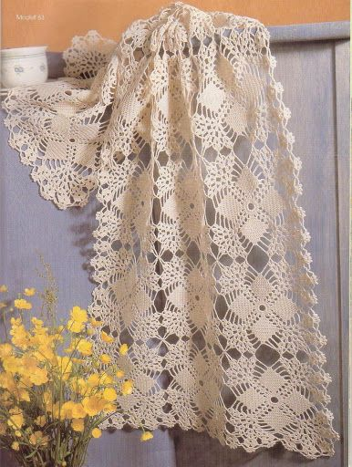 Weaving Arts in Crochet: Table Runner
