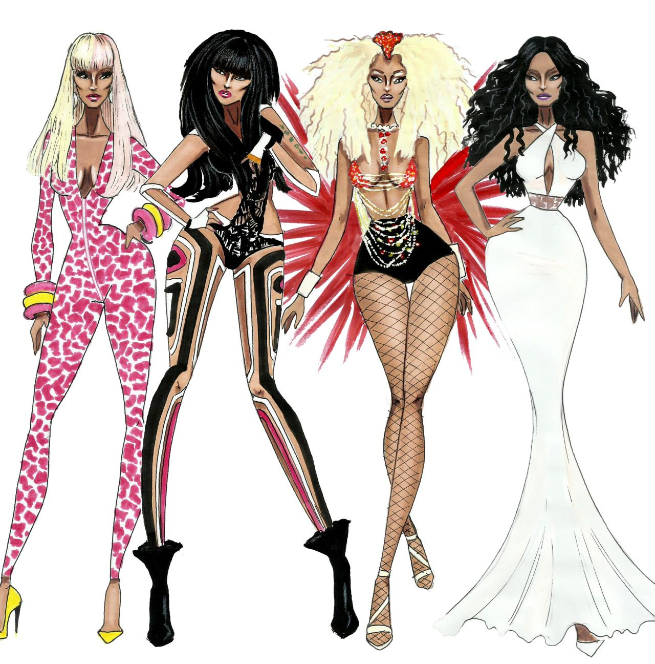 The Nicki Minaj Eras By Armand Mehidri Which One Is