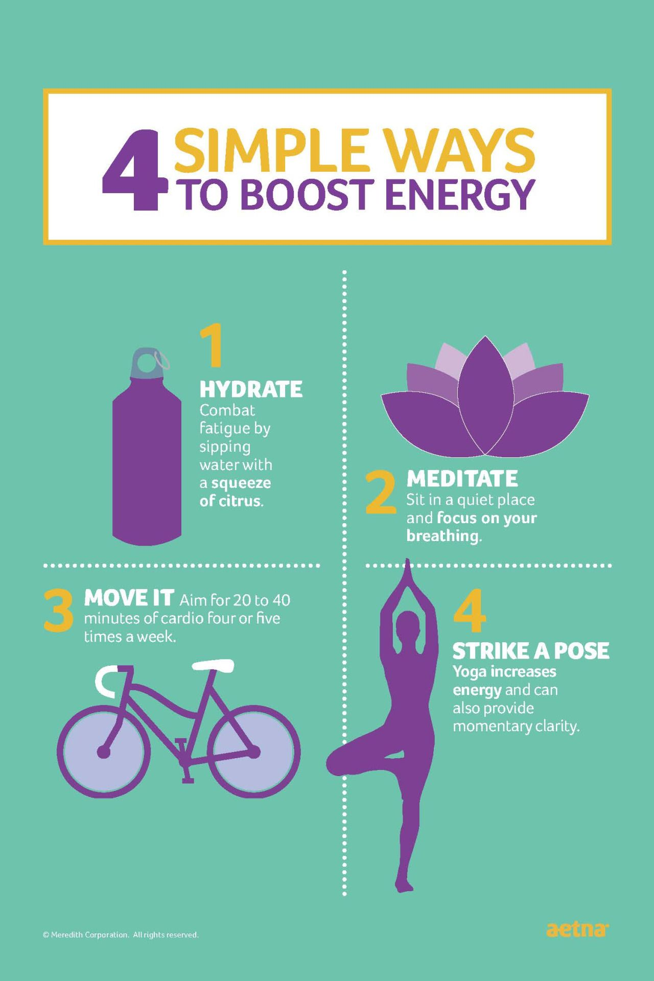 4 Simple Ways to Boost Energy! Join the Month of ...