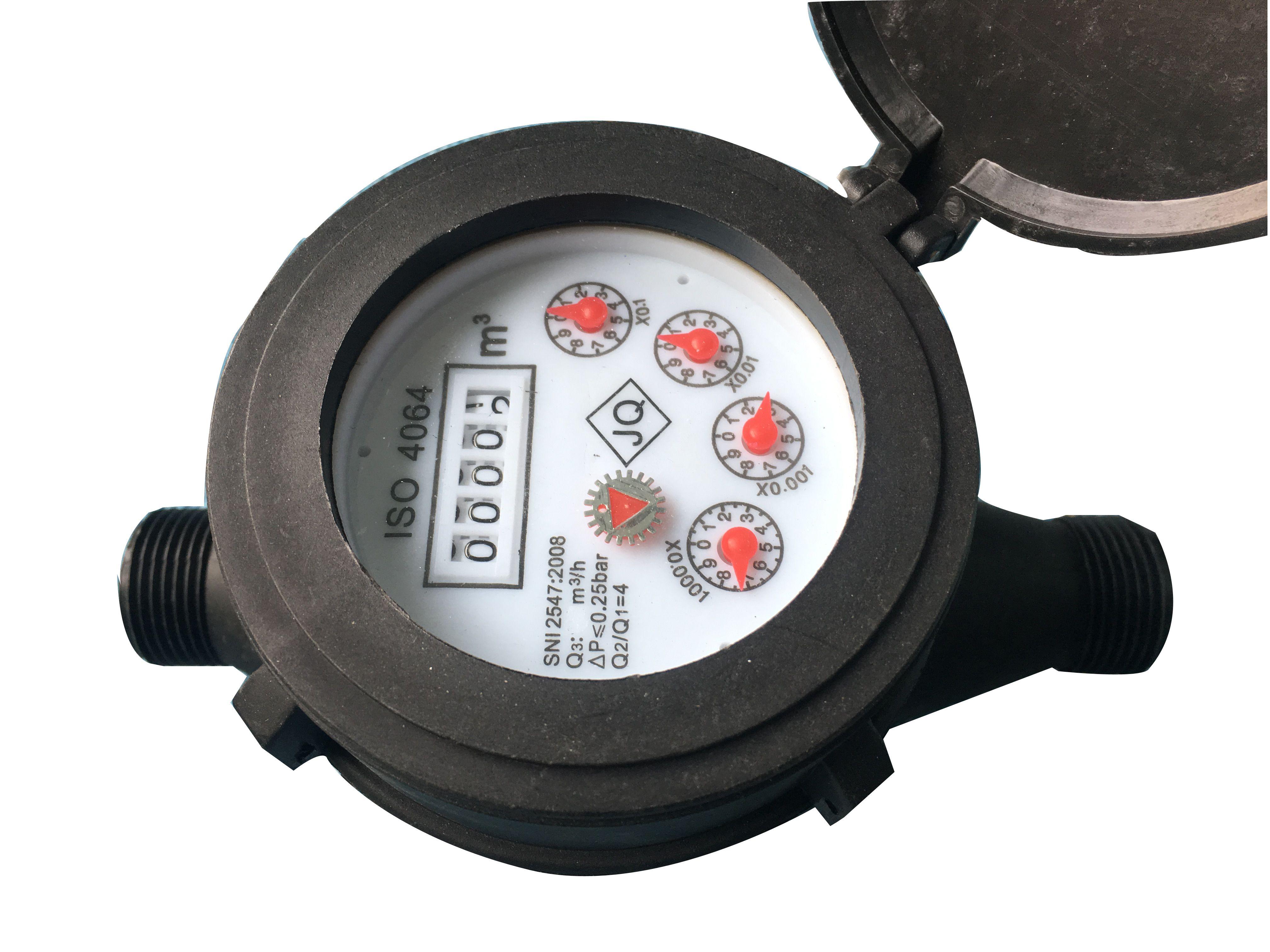 Pin On Single Jet Water Meter