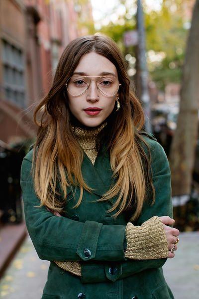 ragazze con occhiali da vista ray ban