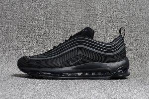 d7aeaf0c91e6 ... sale mens nike air max 97 kpu og playstation triple black casual shoes  sneakers 199a2 433ee
