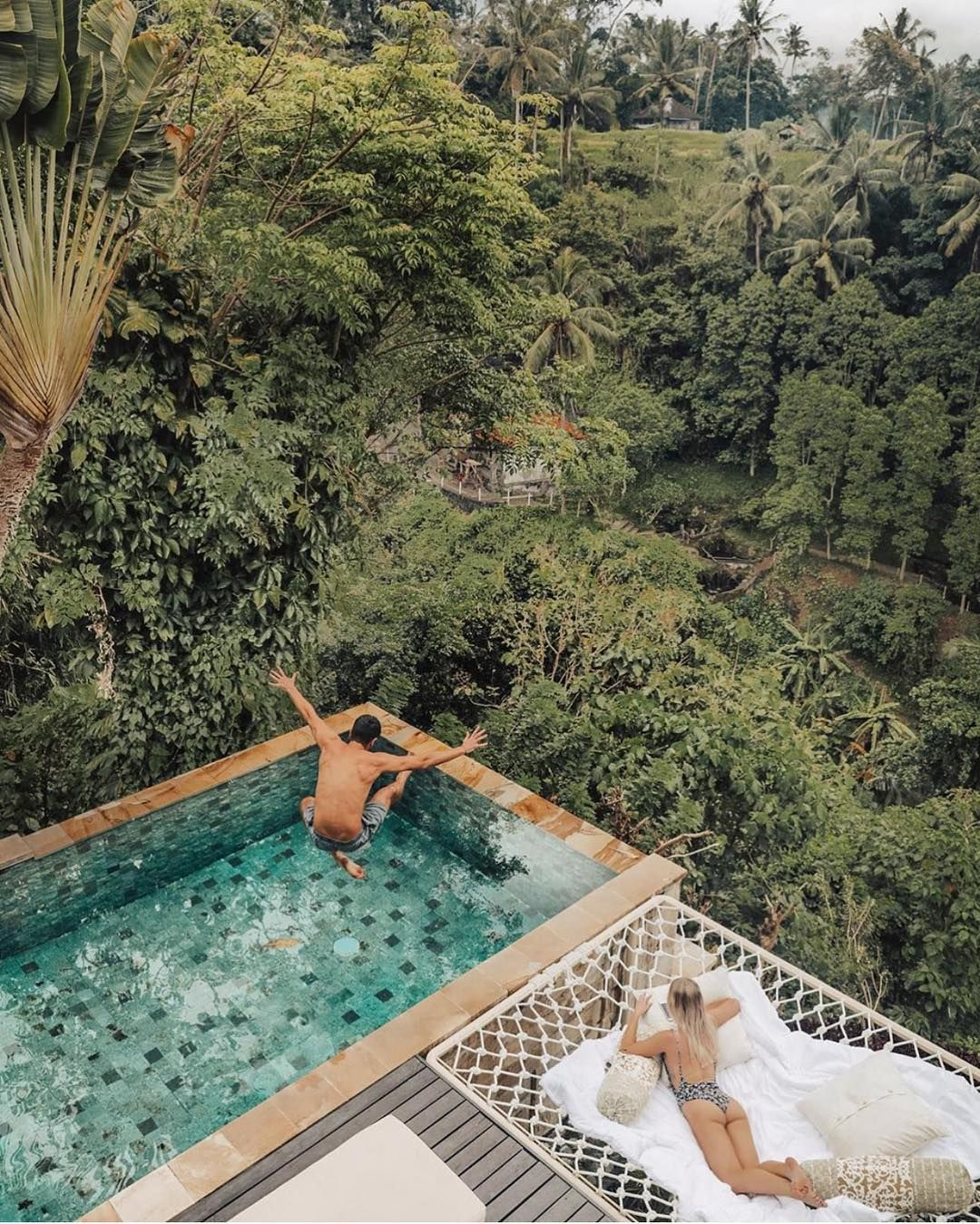 Best Airbnb On Instagram Villa Cella Bella Jump Into The Weekend At This Awesome Airbnb Bali Indonesia Photo By Ubud Villas Bali Resort Bali Vacation