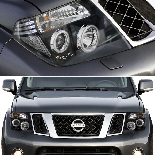 how to take pathfinder headlight