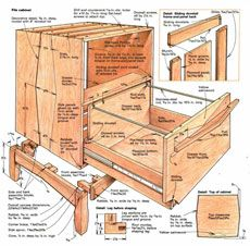 preview - building a file cabinet - fine woodworking article | for