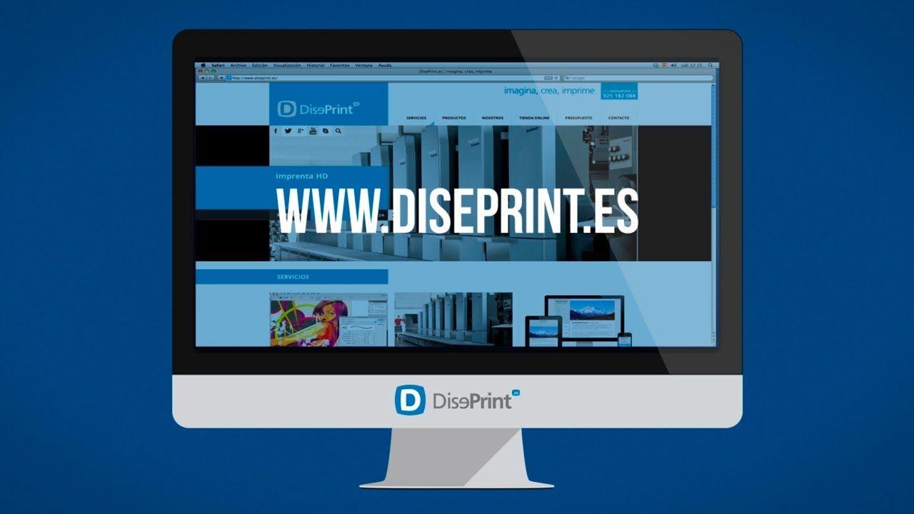 Vídeo para la empresa Diseprint