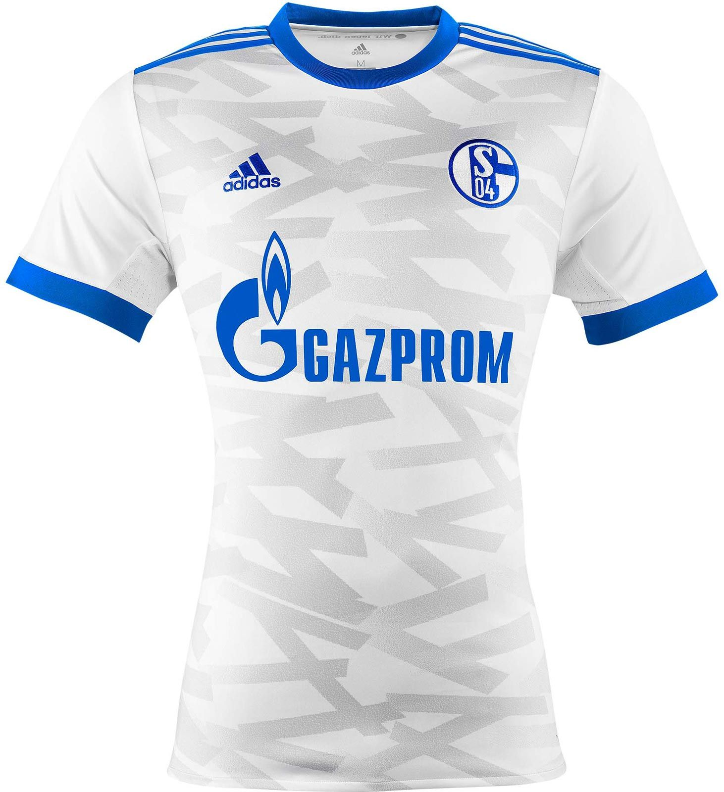 The Schalke away kit introduces a clean look that draws inspiration from  one of the most iconic jerseys in club history.