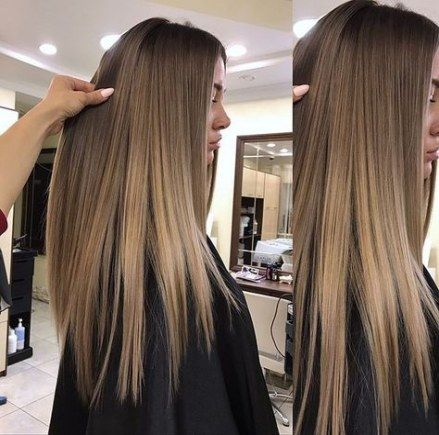 27 Ideas For Hair Color Dark Ash Balayage hair is part of Long hair styles -