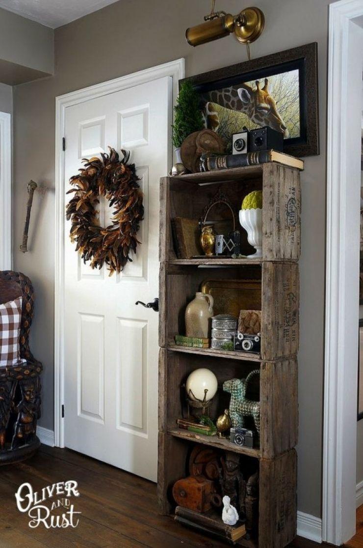 C 39 est fou ce qu 39 on peut faire avec des caisses en bois tag res meubles de rangement tables - Trouver des meubles de salon pour vous ...