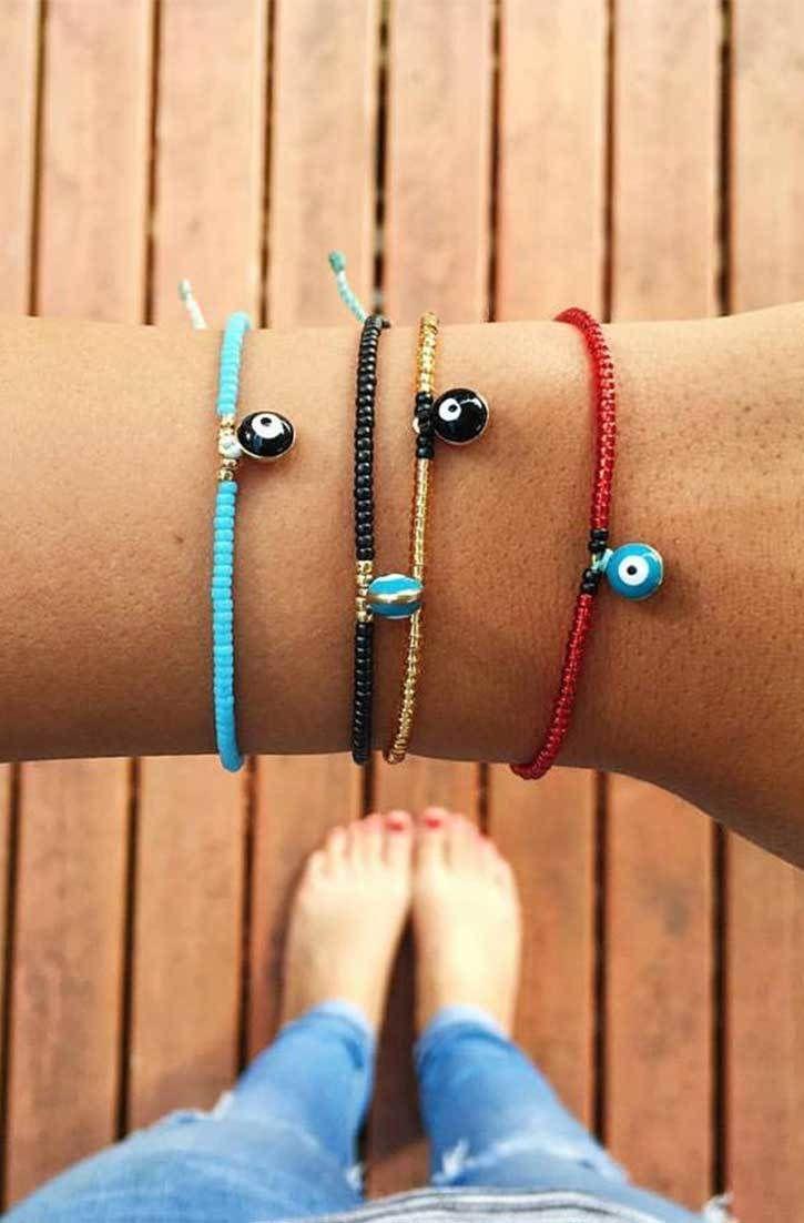Charm Bracelet - Eye Charm Bracelet. by VIDA VIDA LYhlpk7s9