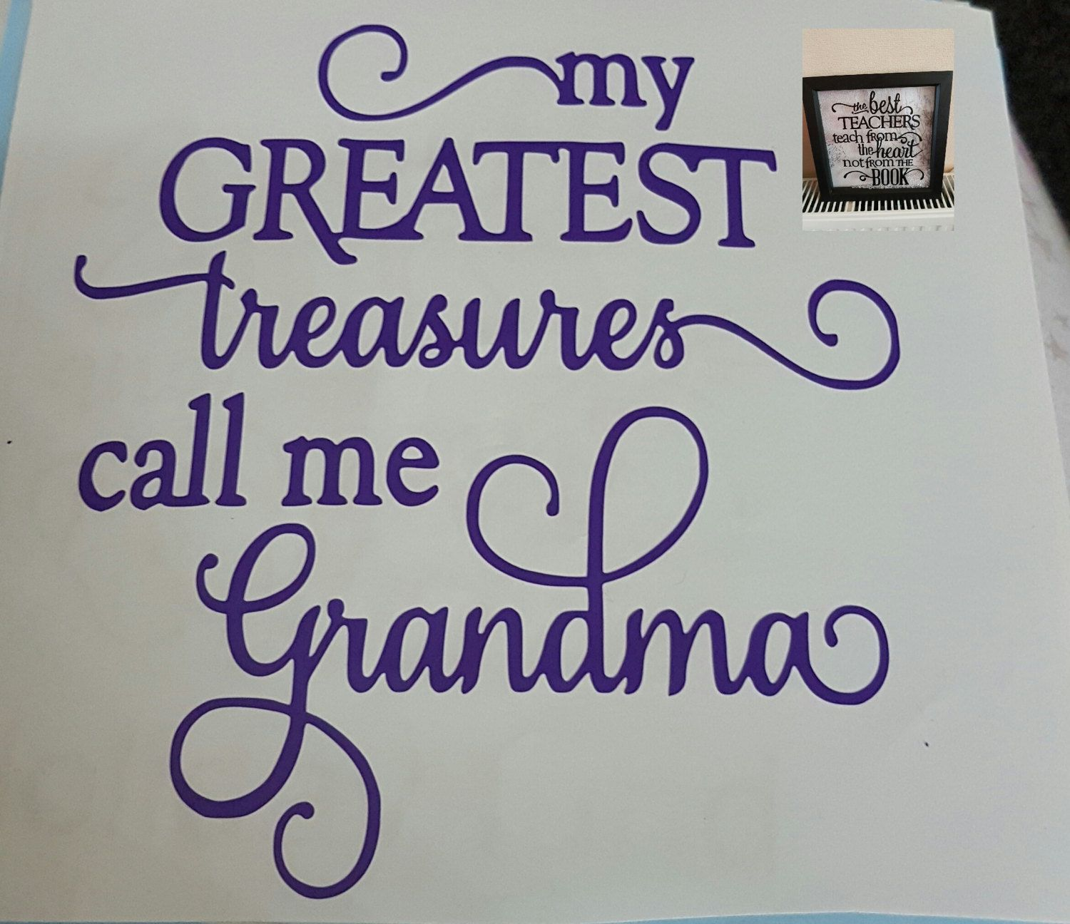 Uncategorized Diy Vinyl Stickers vinyl sticker grandma wording perfect for diy box frames etc etc